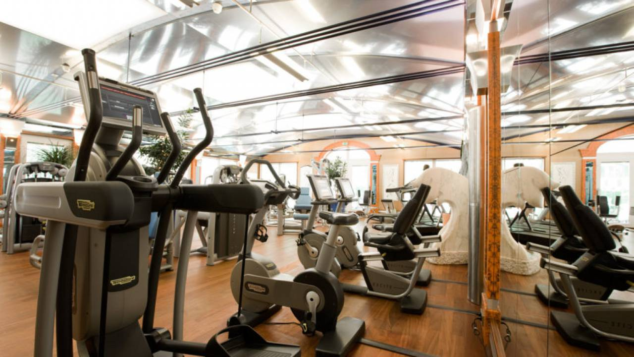 Pure strength: the Fitness Centre