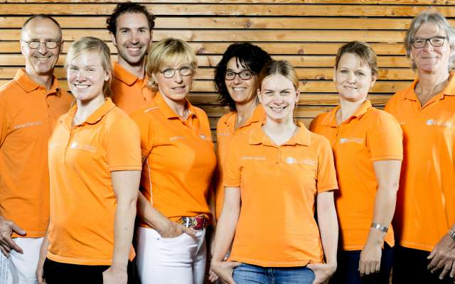Rosenalps Physiotherapie Klarmann Team