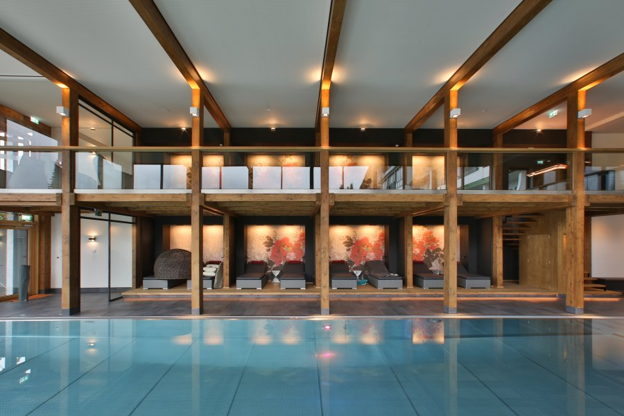 Rosenalp SPA with indoor pool and relaxing second floor